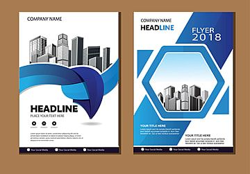 Brochure Layout Annual Report Poster Flyer With Geometric Shape In 2021 Brochure Layout Brochure Brochure Cover