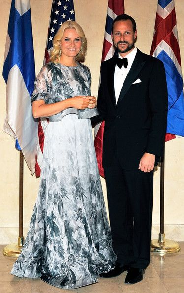 Princess Mette Marit Photos Photos 2010 American Scandinavian Foundation Gala Royal Dresses Princess Norway