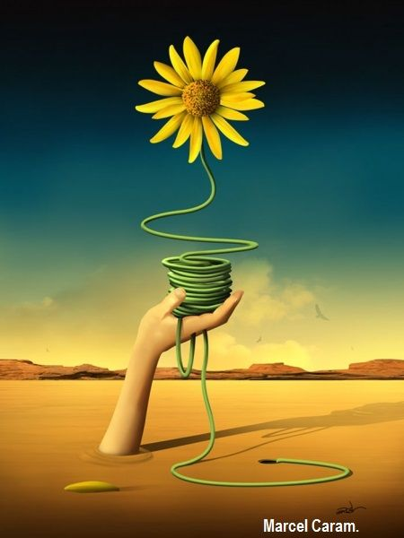 Art Surrealism Flower Surrealisme Surrealism Painting