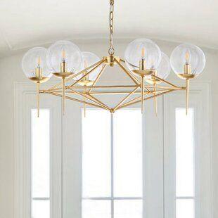 Gold Chandeliers Dining Room, Wayfair Lighting Fixtures Dining Room