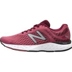 New Balance Women's W680 V6 Neutral Running Shoes Purple ...