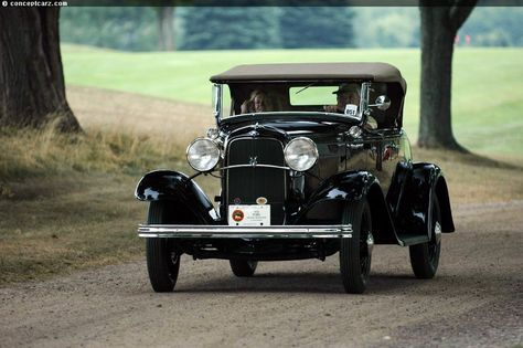 1932 ford model a specs