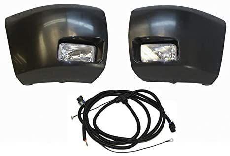 Amazon Com Front Bumper Raw Black End Cap Fog Light Harness For Silverado 1500 2007 2013 Gm2592160 Gm2593160 Gm1004147 Gm1 Silverado 1500 Silverado Car Bumper