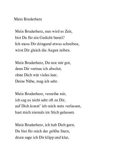 Geburtstagswunsche Zum 30 Bruder Awesome Gedichte Zum Geburtstag