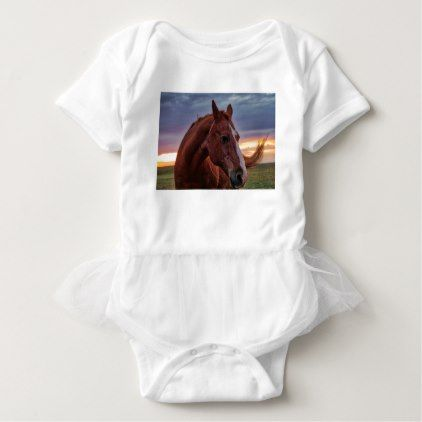 Horse Portrait Baby Bodysuit Zazzle Com Horse Portrait Baby
