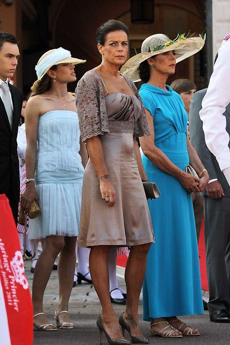 Princesses Charlotte, Stephanie and Caroline of Monaco 🇲🇨