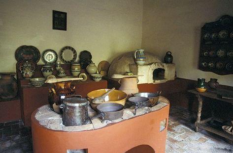 Cocina super tradicional mexicana ( o puede ser en España también ) cocinas de leña