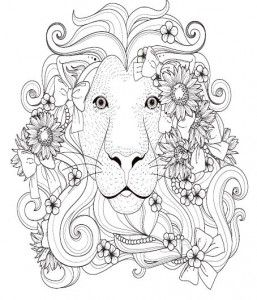 Colouring Resources Quality Aging Lion Coloring Pages Designs Coloring Books Coloring Books