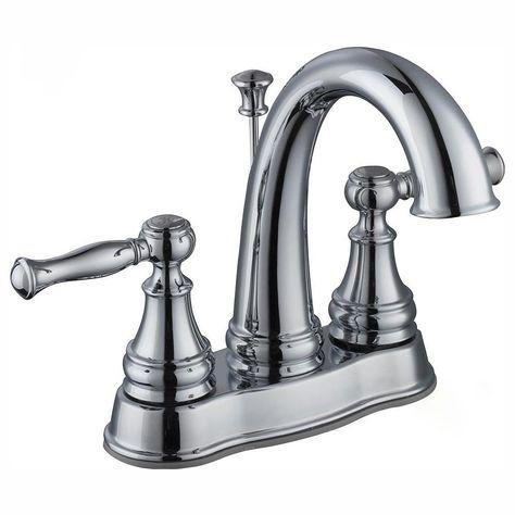 Centerset 2-Handle LED High-Arc Bathroom Faucet in Bronze Glacier Bay Mandouri 4 in