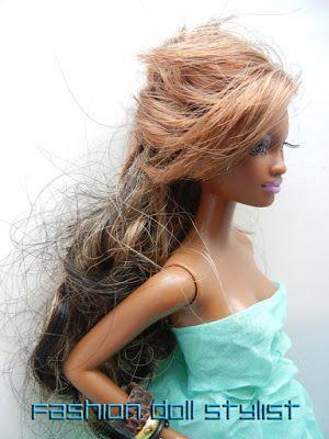 Fashion Doll Stylist Hair Today Gone Tomorrow