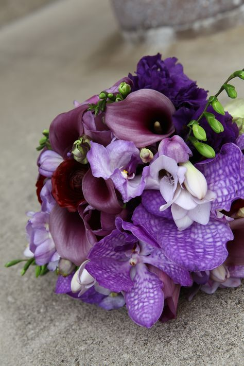 Kansas City Wedding Purple And Gray Wedding Purple Bridal