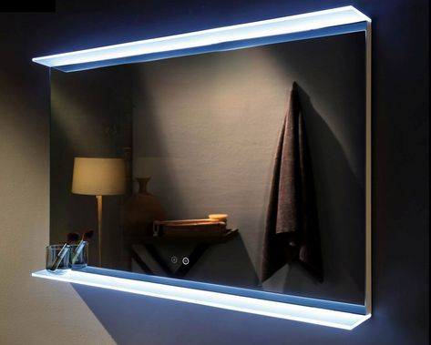 Venti 1000mm X 700mm Rectangular Led Mirror Backlit Bathroom Mirror Backlit Mirror Bathroom Mirror With Shelf