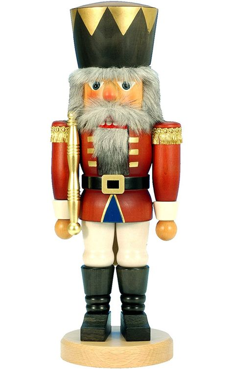 32-810 - Christian Ulbricht Mini Nutcracker - King - 16.5''H x 6.5''W x 5''D *** Don't get left behind, see this great product offer  : Nutcrackers