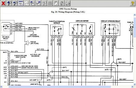 Toyota Electrical Wiring Diagram 2002 Ford Mustang Electrical Wiring Diagram Used Toyota