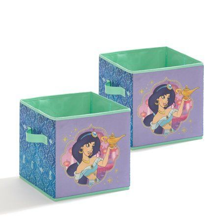 Disney Aladdin 2 Pack Collapsible 10 X 10 Storage Cubes Walmart Com Aladdin Collapsible Cubes Disney Pack Storage W In 2020 Cube Storage Storage Disney Aladdin