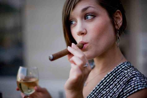 Wine and Song? How about Wine and Cigar...