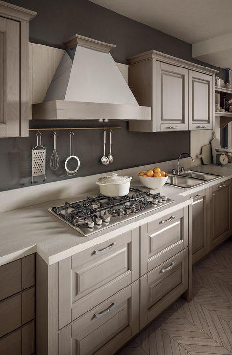 dettaglio cucina classica stosa - modello cucina bolgheri 02 ...