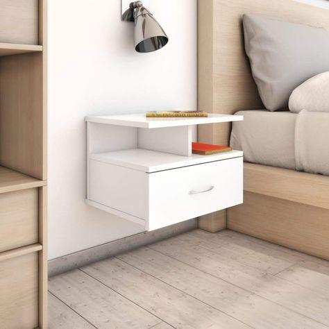 Amazon.it: mensole bianche Comodini Camera da letto