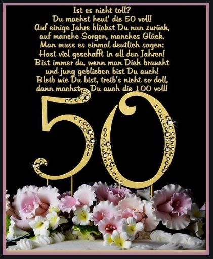 Geburtstagswunsche Zum 50 Geburtstagswunsche Zum 50