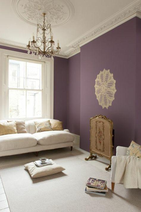 80 idées d\'intérieur pour associer la couleur prune! | Decoration