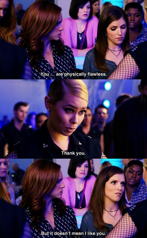 Show it down like Beca Pitch Perfect Beca, Pitch Perfect Quotes, Anna Kendrick Pitch Perfect, Pitch Perfect Movie, Tv Quotes, Movie Quotes, Funny Movies, Good Movies, Pitch Pefect