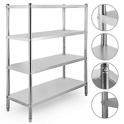 Ad Ebay Url Stainless Steel Kitchen Shelf Shelving Rack Shelves Rack Restaurant 4 Tier Steel Shelving Unit Shelving Racks Stainless Steel Kitchen Shelves