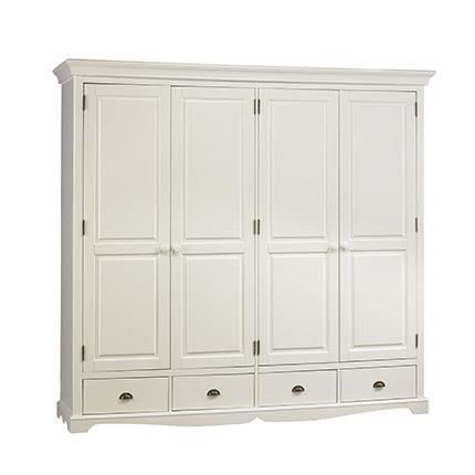 Grande Armoire Grande Armoire Penderie Blanche De Style Anglais Achat Vente Bedroom Decor Design Tall Cabinet Storage Armoire