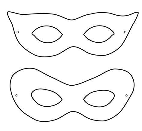 Kinder Fasching Maske Klassisch Design Ausdrucken Idee Faschingsmasken Basteln Masken Basteln Masken Kinder
