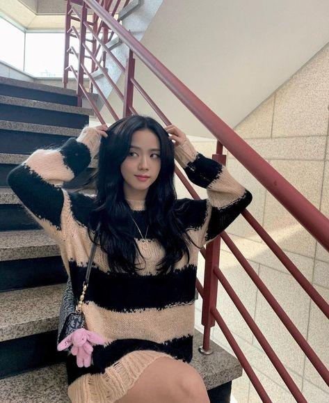 South Korean Girls, Korean Girl Groups, My Girl, Cool Girl, Blackpink Members, Blackpink Photos, Blackpink Fashion, Jennie Blackpink, Blackpink Jisoo