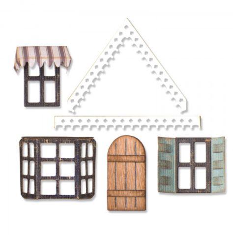 Village Addition 663120 Sizzix Bigz Die By Tim Holtz
