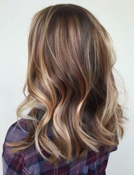 Ideal Medium Length Hairstyles For Fall Winter With Hair Colors Ideas In 2020 Winter Hair Colour For Blondes Hair Styles Medium Length Hair Styles