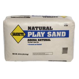 Sakrete 50 Lbs Bag Play Sand For 3 59