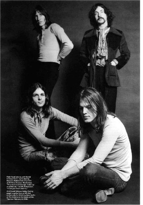 pink floyd, when they were babes.