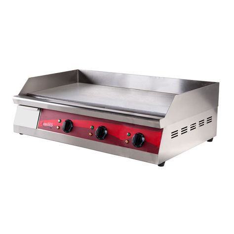 Avantco Eg30n 30 Electric Countertop Griddle 208 240v 3375w