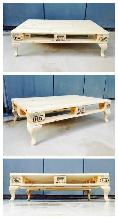most creative pallet coffee tables