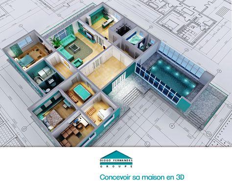 Rsultat De Recherche DImages Pour Plan Maison  Chambres D