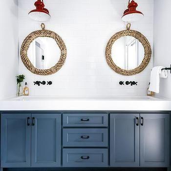 Round Rope Bathroom Mirror Design Ideas Page 4 In 2020 Round