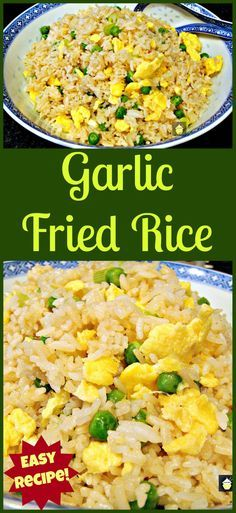 Garlic fried rice recipe rice noodles pinterest garlic fried make some delicious garlic fried rice i make this often its quick easy ccuart Images