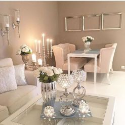 80 Living Room Ideas Rose Gold With