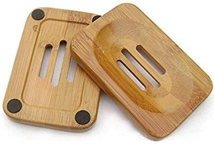 Milannuo Natural Wood Soap Rackbathroom Wooden Soap Case Holder Sink Deck Bathtub Shower Dish Light 7 98 5 0 Out Of 5 Stars Seifenschale Bambus Seife