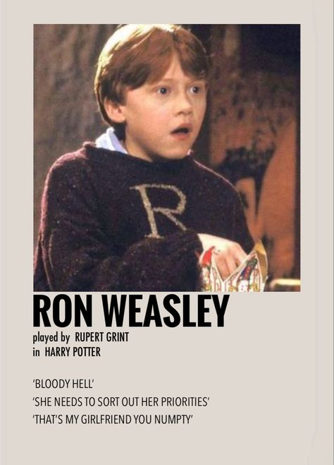 Ron Weasley by Millie