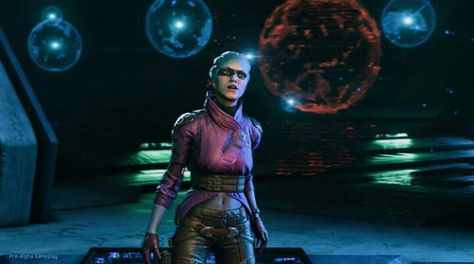 I love her already!! Mass Effect Andromeda