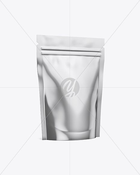Download Metallic Stand Up Pouch Mockup Half Side View In Pouch Mockups On Yellow Images Object Mockups Mockup Free Psd Free Packaging Mockup Psd Template Free
