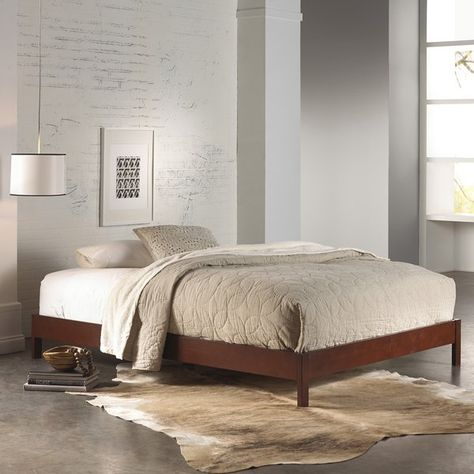 Pin By Megan Buche On Actual Apartment Stuff Wood Platform Bed
