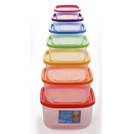 حافظات طعام 7 قطع 12طقم تمه منظفات عنايةافضل ادوات نظافه نظافه تنظيف Bowl Tableware Kichen