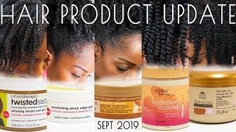 Hair Product Update Hair Gels Edge Controls Twisting Products
