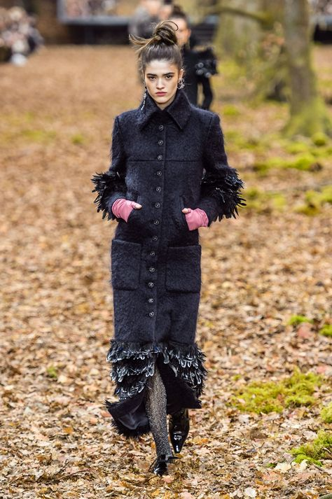 Karl Lagerfeld celebrates his favourite season (autumn) with new Chanel collection- HarpersBAZAARUK
