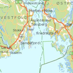 Plan Your Trip With The Visit Norway Map Tools Where You Find - Norway map sandefjord