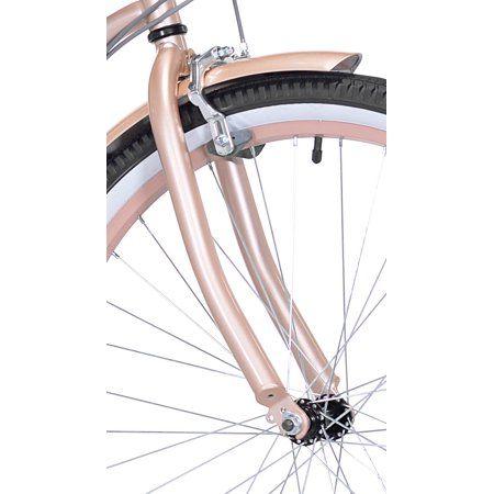 Kent 26 Bayside Women S Cruiser Bike Rose Gold Walmart Com Bike Bicycle Best Road Bike