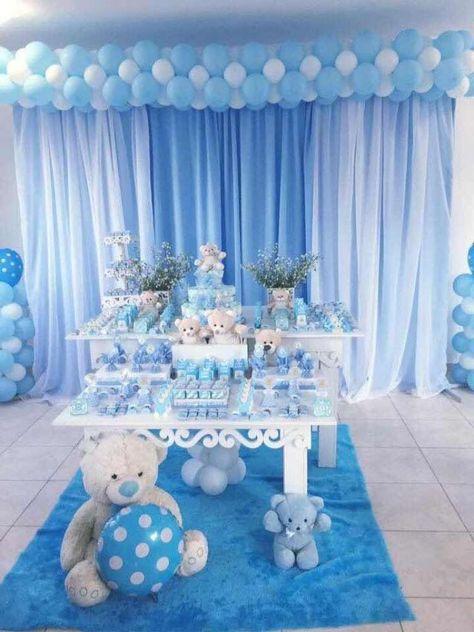 Decoración De Mesa Para Baby Shower Más De 25 Fantásticas